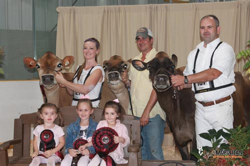 Pleasant Nook Jerseys 1st Breeders Herd Statford 2015